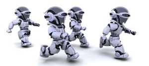 running cyborgs